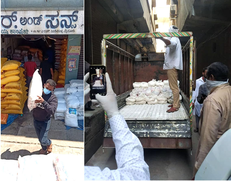 India: Help feed program for poor families during the COVID Lockdown