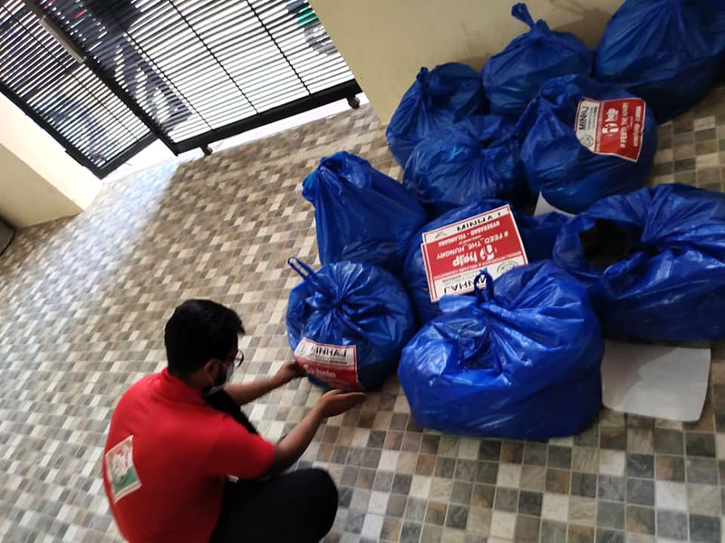 Phase-2 of Help Feed Project 2021 of MIWF completed